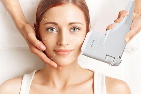 HIFU treatment face